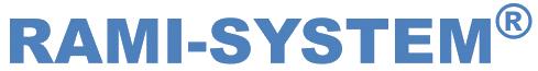 logo rami system blau