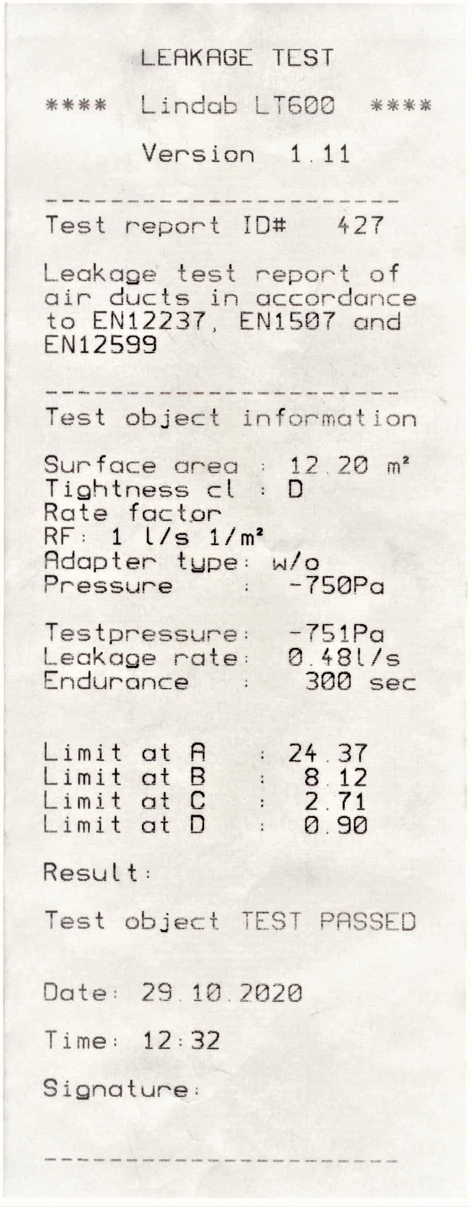 Test 2 passed 750 nivel D